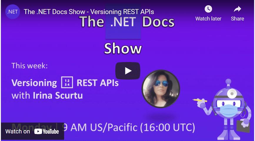 The .NET Docs Show